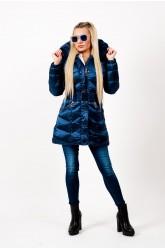 Mayo Chix - BRIELLE - steppelt kabát, VALÓDI SZŐRMÉVEL