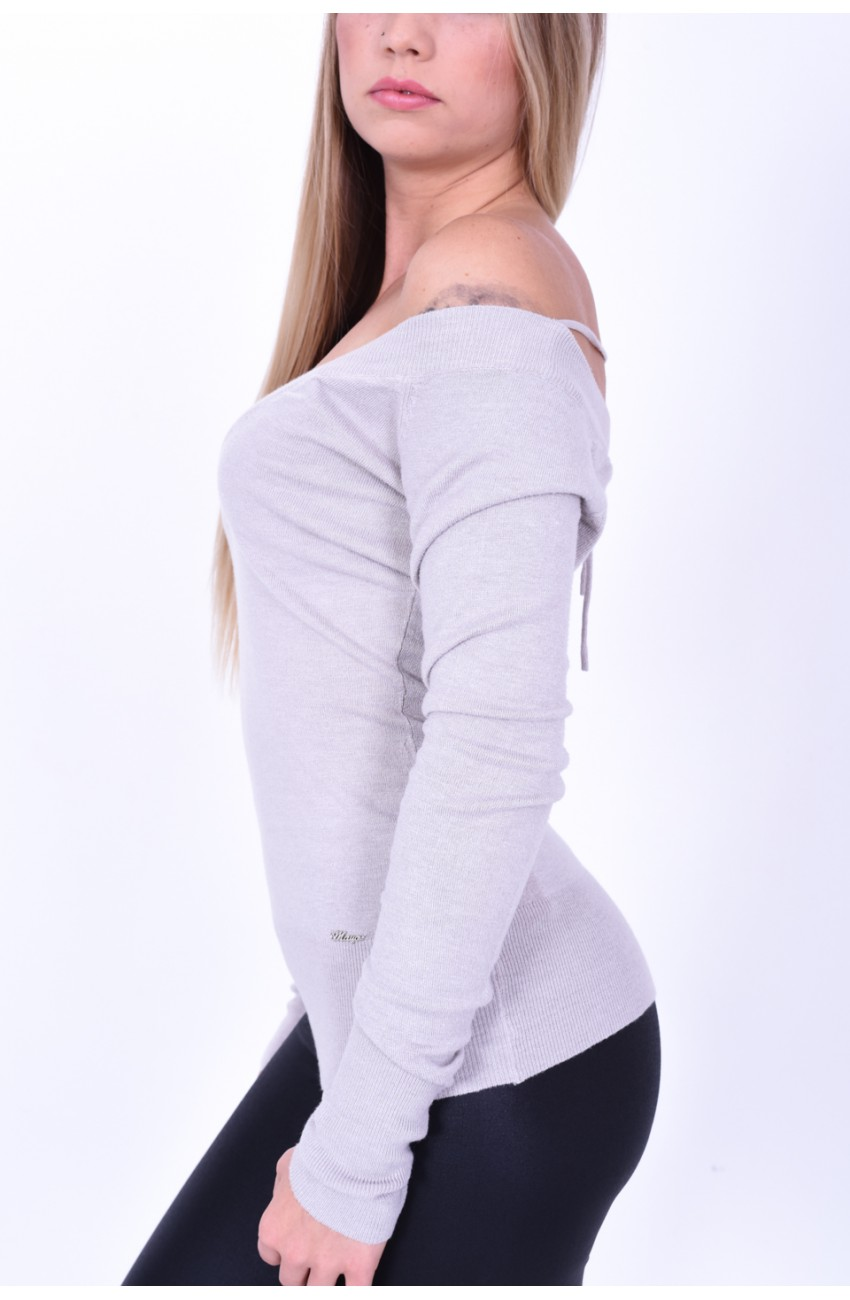 Mayo Chix - BONJA - pulóver fém márkajelzéssel
