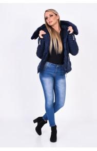 Mayo Chix - PELLIN - steppelt kabát, VALÓDI SZŐRME
