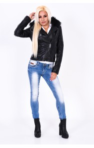 Mayo Chix - MIRIAM - átmeneti, műbőr dzseki