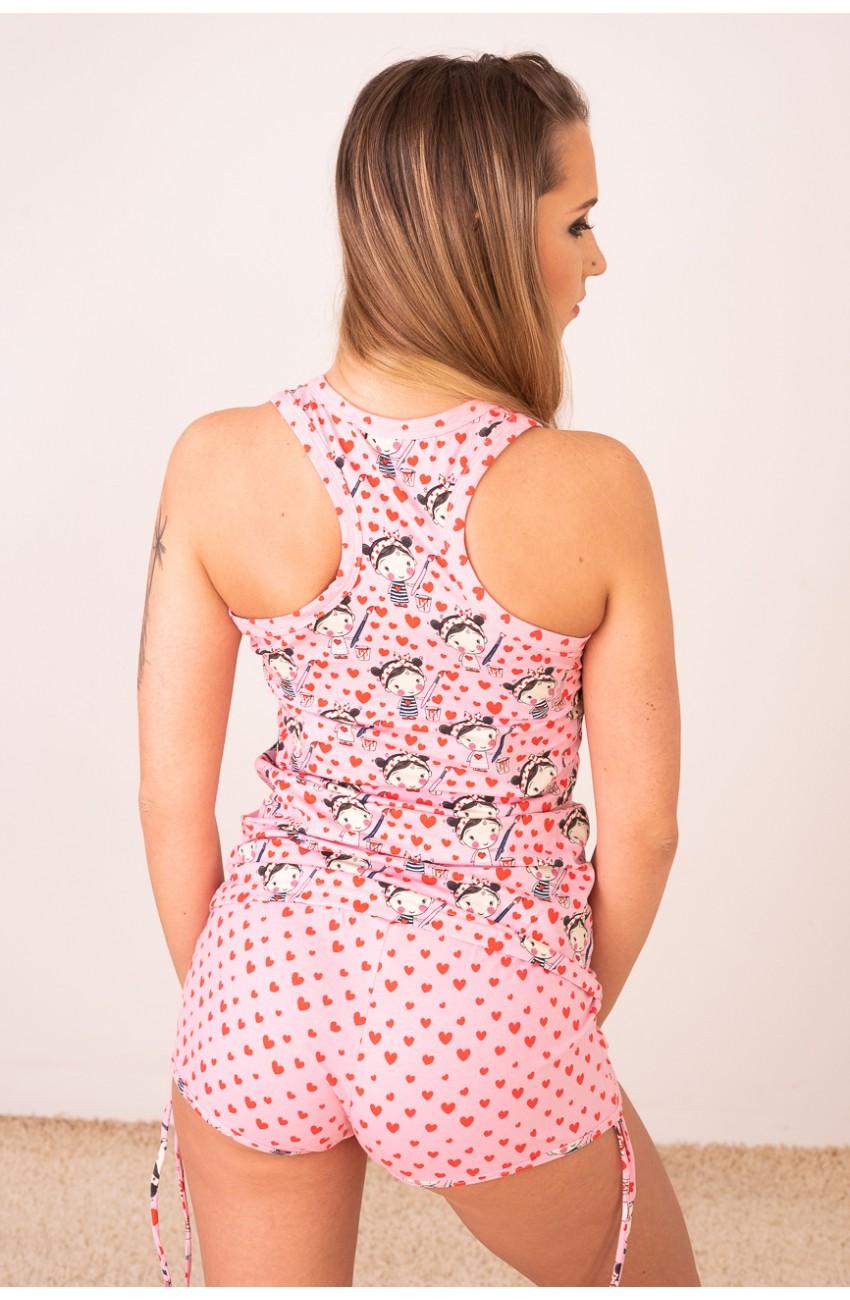 Poppy - FREAKY - Festő kislány - trikószett, pizsama