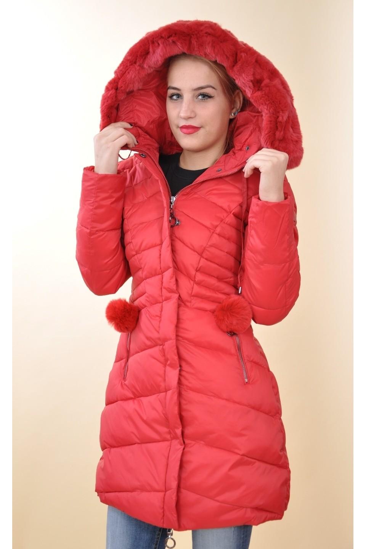 9935055258 Mayo Chix - MARCANTEL - téli kabát EREDETI SZŐRMÉVEL