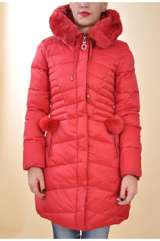 58cf16abac Mayo Chix - MARCANTEL - téli kabát EREDETI SZŐRMÉVEL