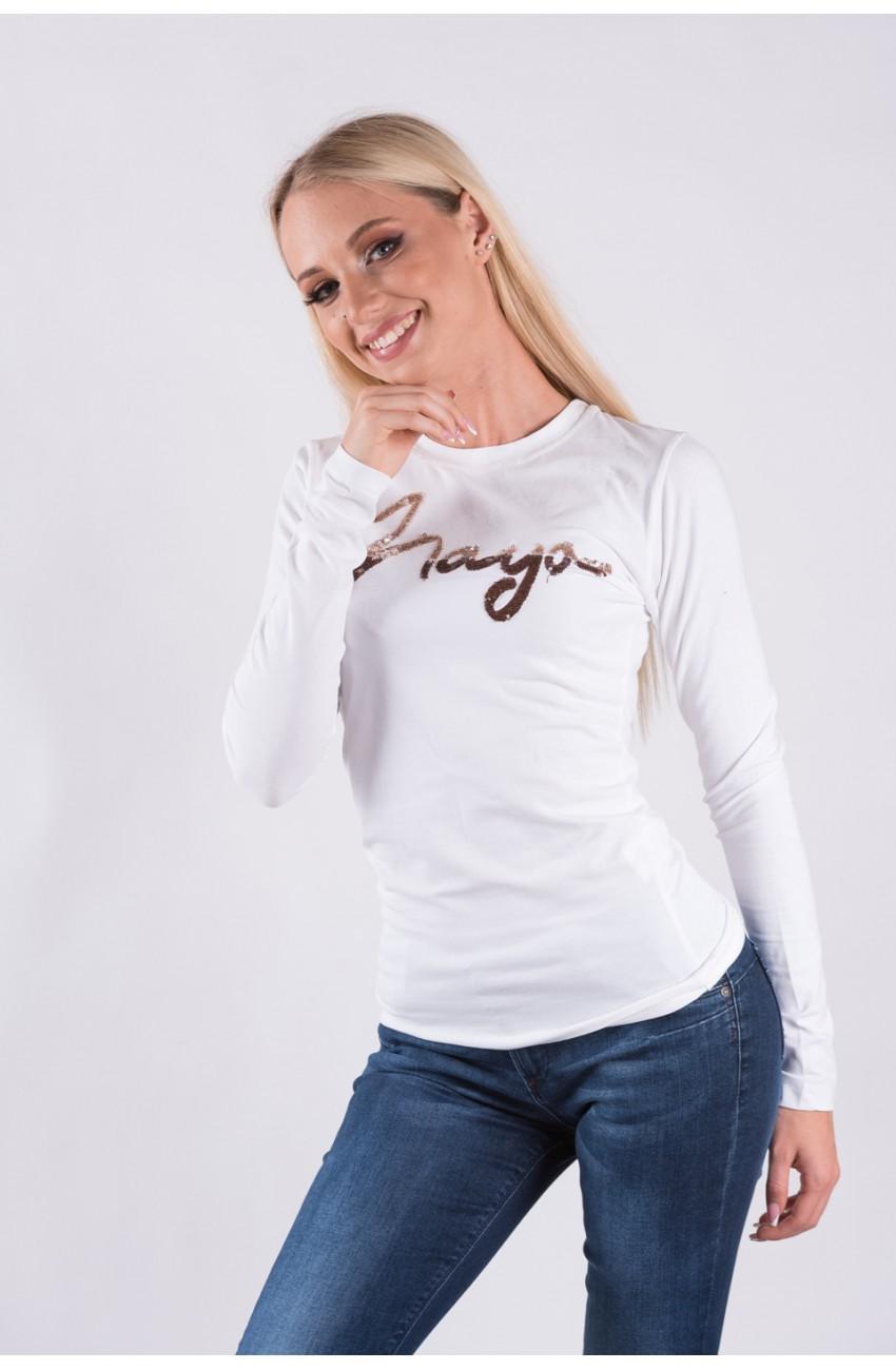 Mayo Chix - LIGHT - hosszú ujjú felső, flitteres