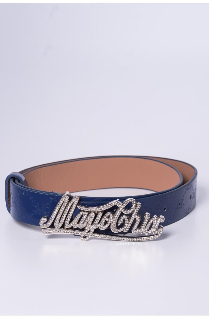 Mayo Chix - MARK - Írott, csilis öv, ezüst, LAKK