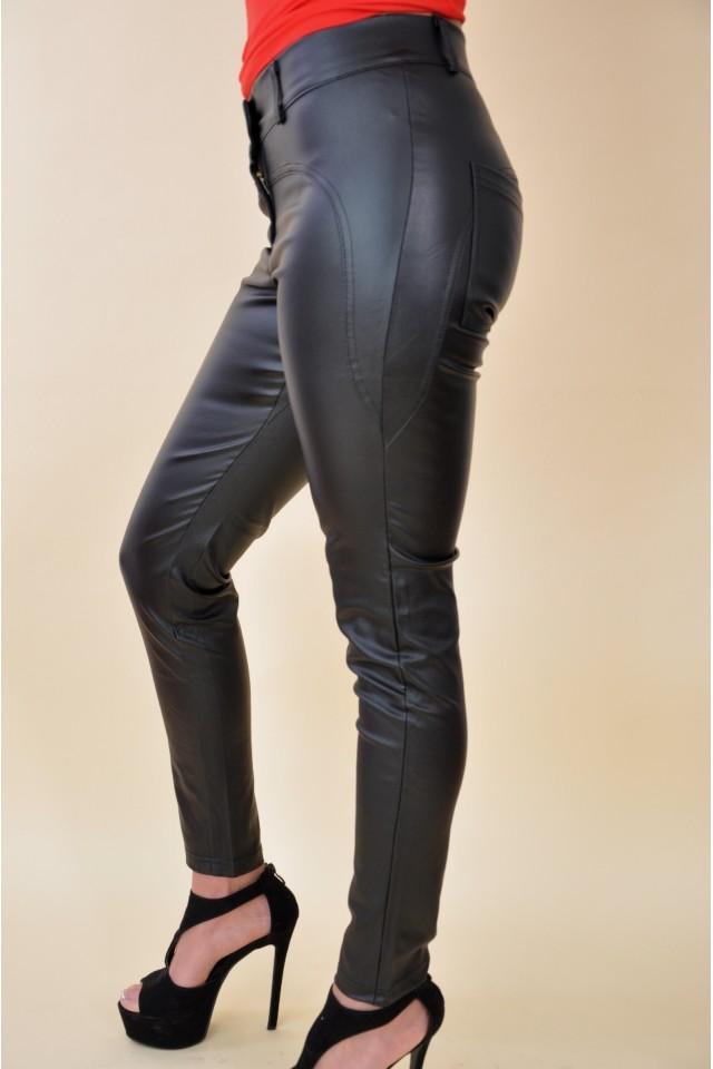 BEBE - 3501 - Bőrhatású nadrág