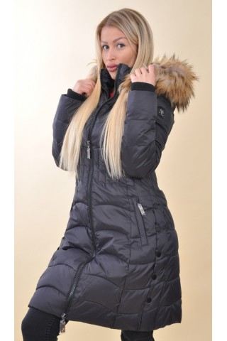 Mayo Chix - MARS - steppelt téli kabát 1366f520fd